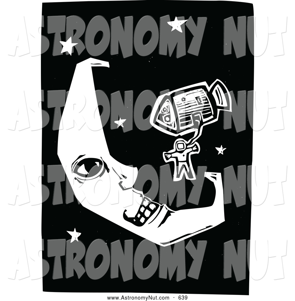 Royalty free stock designs. Astronomy clipart space exploration