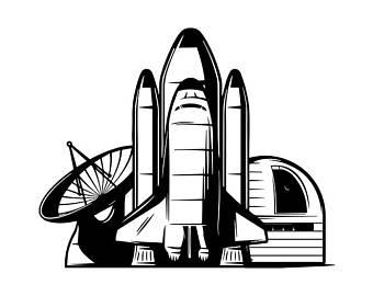 Rocket svg etsy logo. Astronomy clipart space exploration