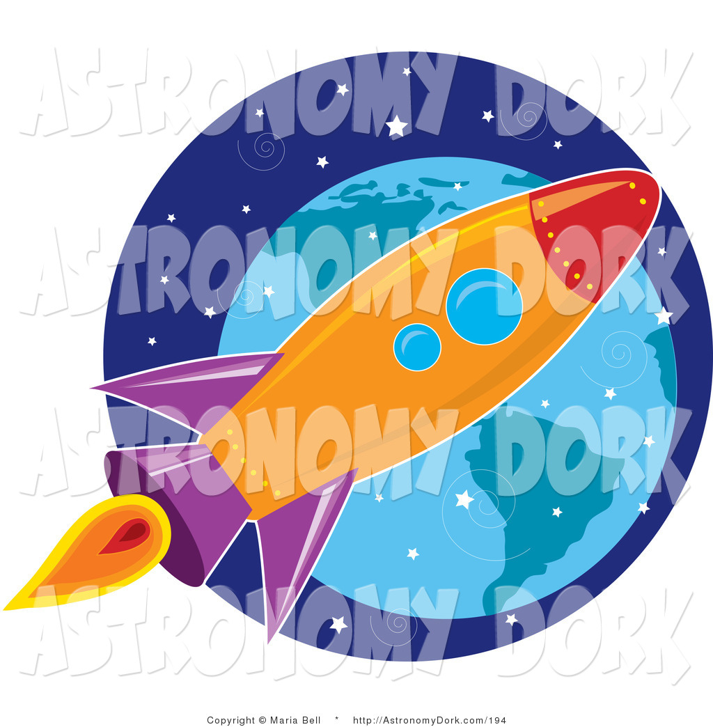 Astronomy clipart space exploration. Royalty free rocket stock