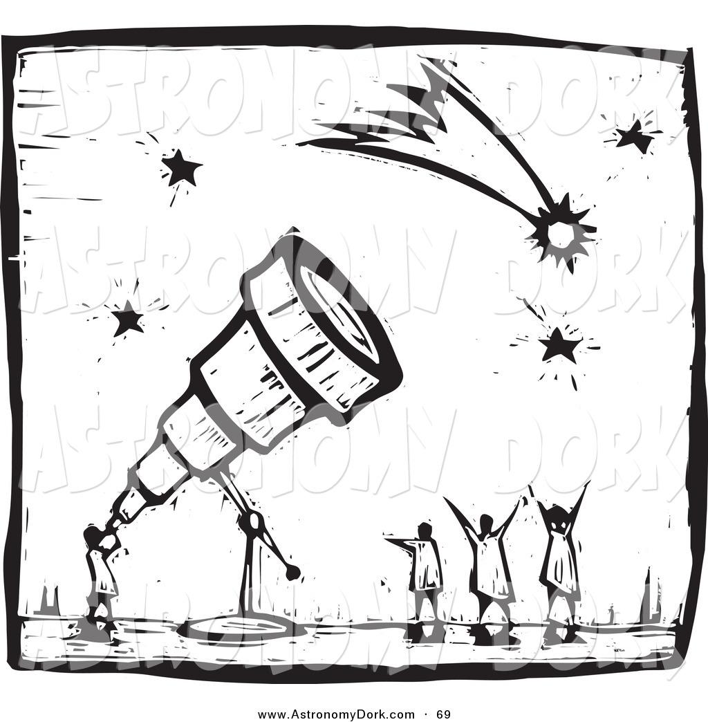 Astronomy clipart telescope star. Clip art of a