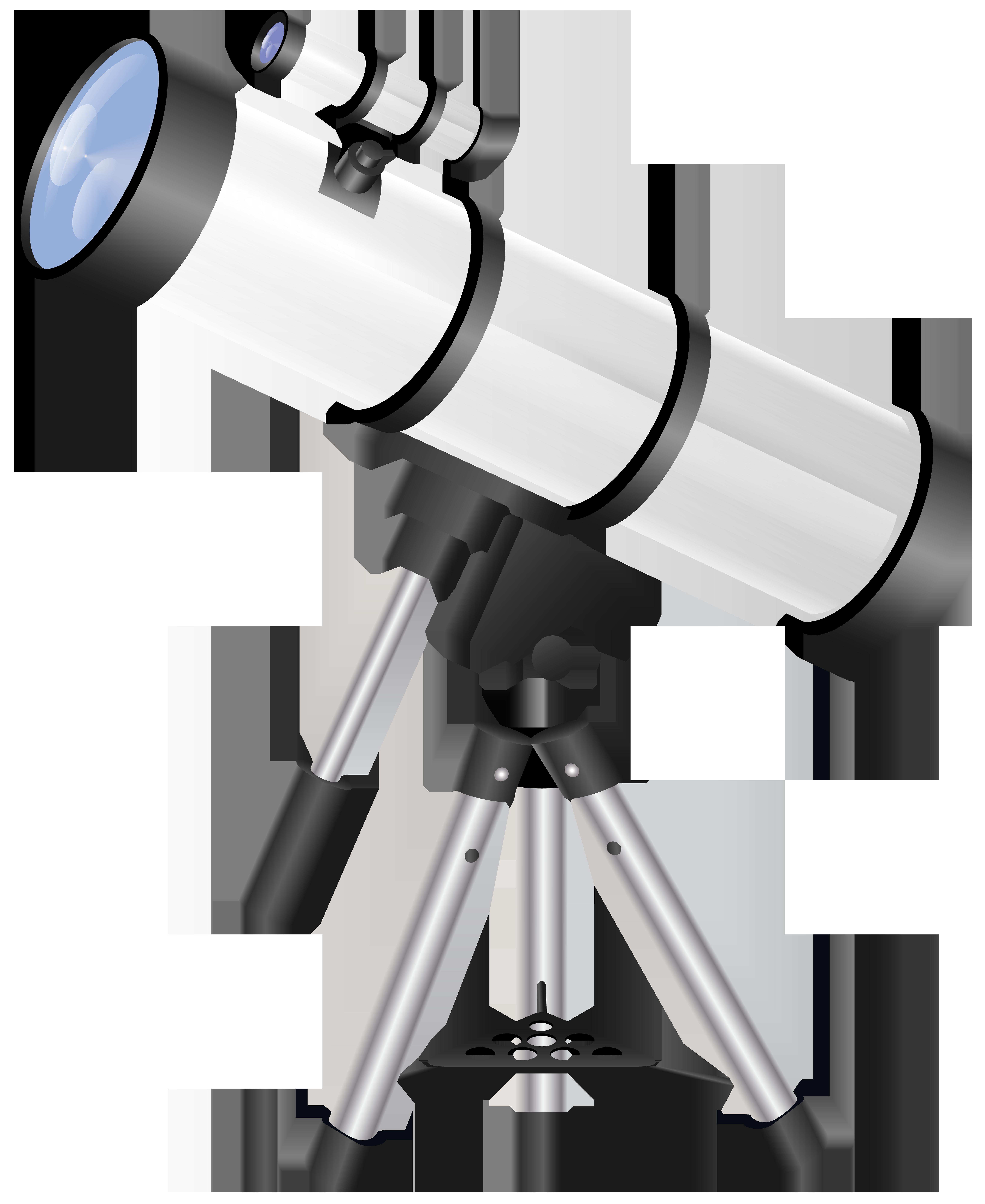 Astronomy clipart transparent. Telescope png clip art
