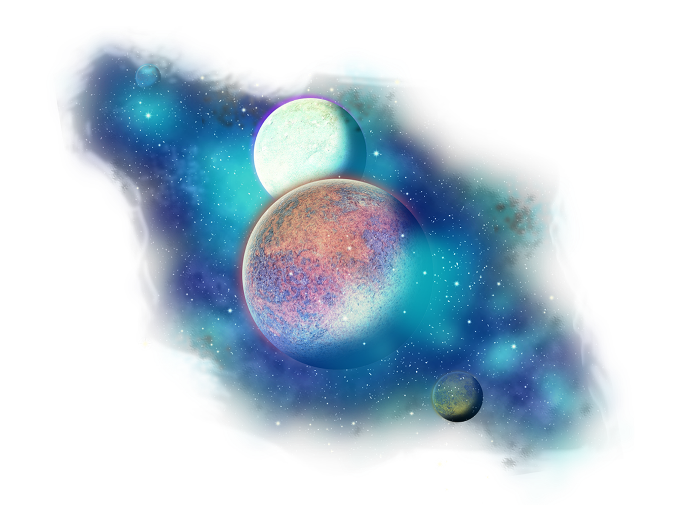 Freetoedit png stars galaxy. Planet clipart transparent background