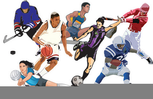 Athlete clipart. Student free images at