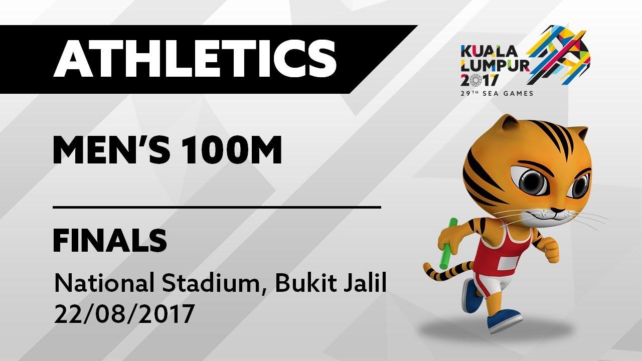 Athlete clipart 100m. Kl th sea games