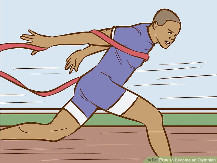 How to become an. Athlete clipart 100m