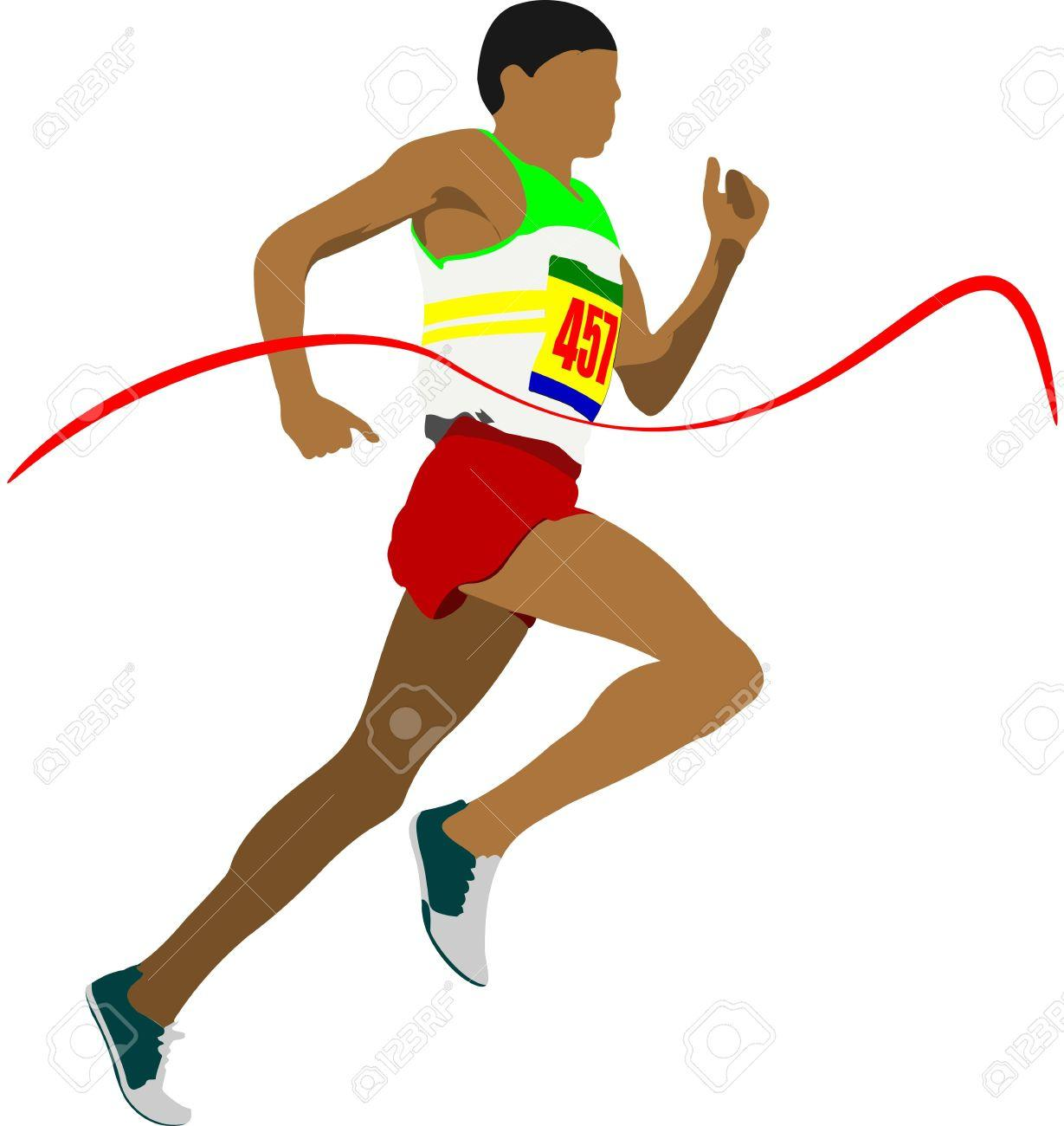 Athlete clipart 100m.  collection of athletics