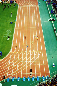 Athlete clipart 100m. Athletics at the olympic