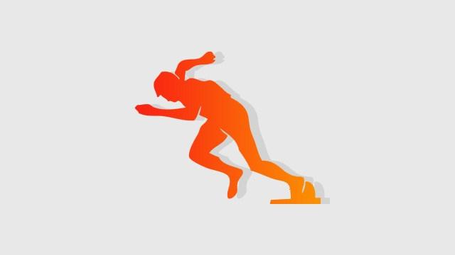 Athlete clipart 100m. Athletes disciplines european athletics