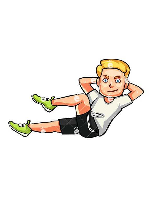 Exercise clipart wallpaper. A man doing bicycle