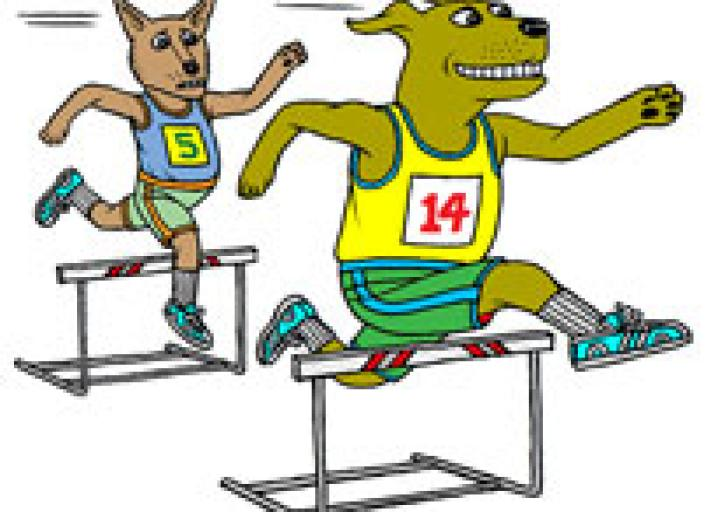 How to turn your. Athlete clipart agility