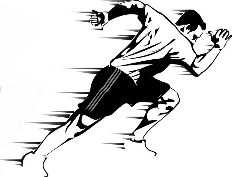 Athlete clipart agility. Next level saq what