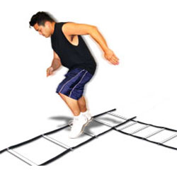 Speed ladder basic one. Athlete clipart agility
