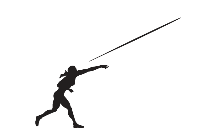 Athlete clipart approach. Women s javelin pbs