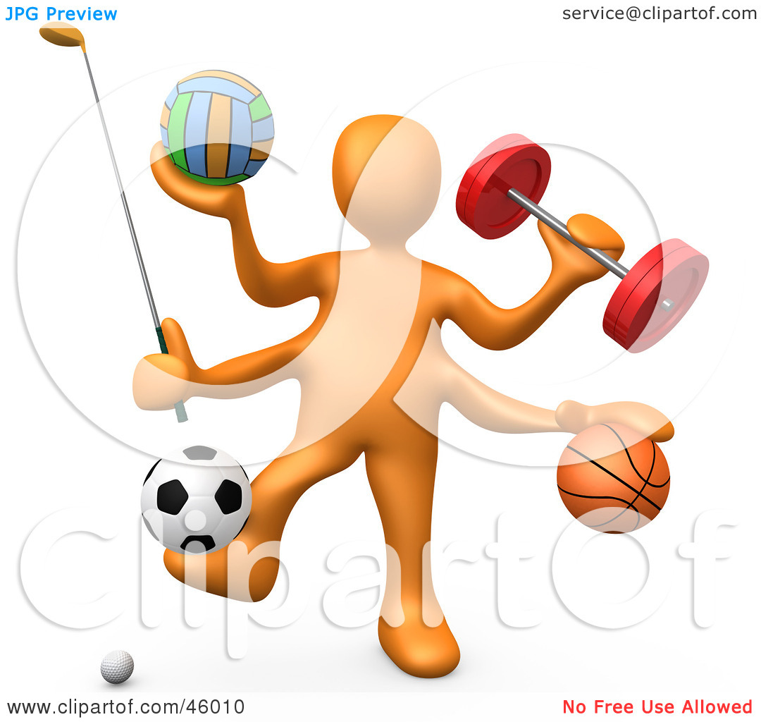 Most . Athletic clipart athletic person