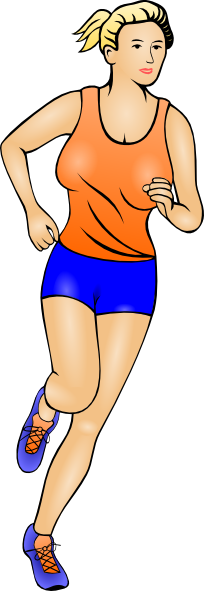Athletic clipart athletic person. Clip art free panda