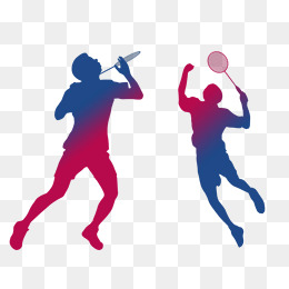 Athlete clipart badminton. Player png images vectors