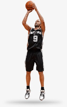 Shooting player shoot a. Athlete clipart basketball