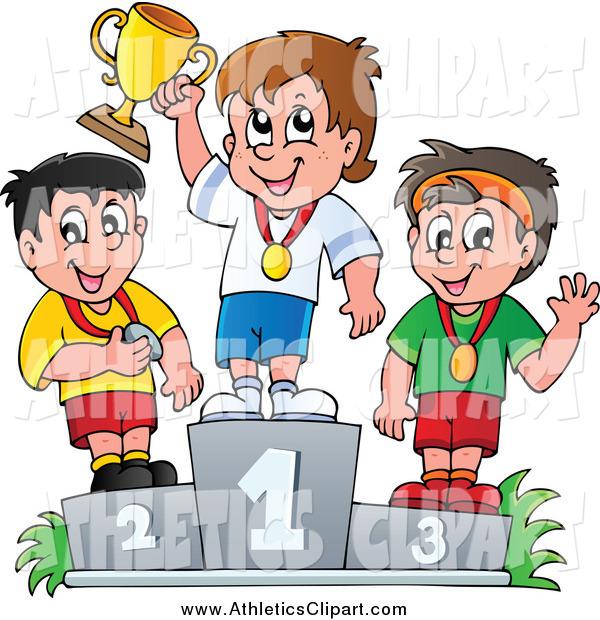 Clip art of athletic. Athlete clipart child athletics