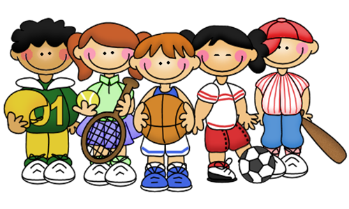 Home from kids to. Athlete clipart child athletics
