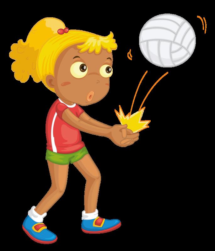 Athlete clipart cute.  sport girl kids