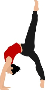 Athlete clipart female athlete. Gymnast image a performing