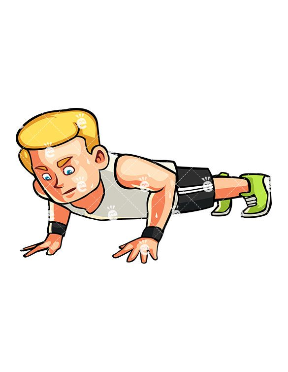 best working out. Athlete clipart fitness