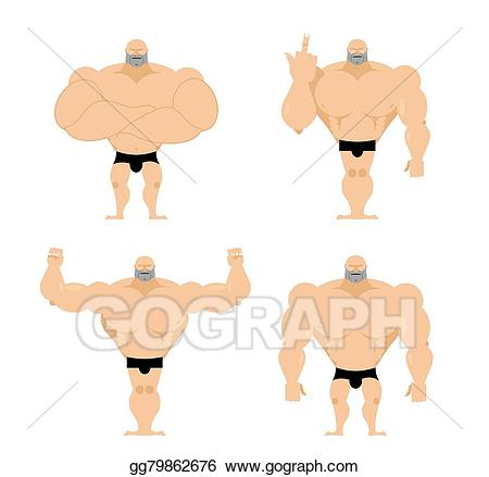 Athlete clipart fitness. Eps vector set of
