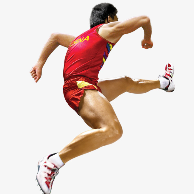 Athletic clipart olympic athlete. Run the chinese athletes