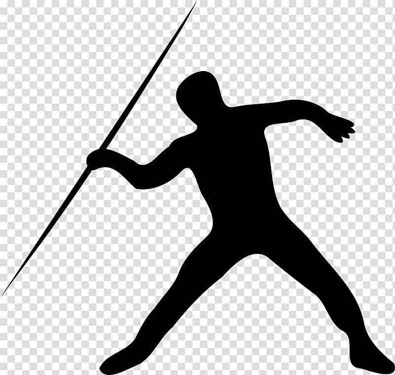 Javelin throw track and. Athletic clipart atheletics