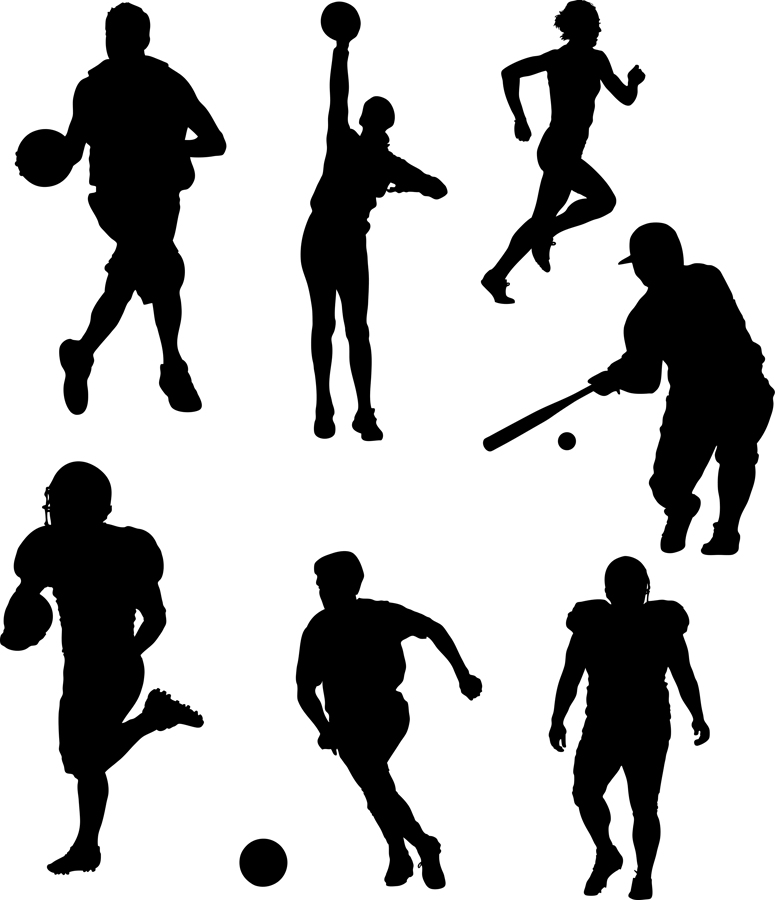Athletic clipart youth sport. The multi high school