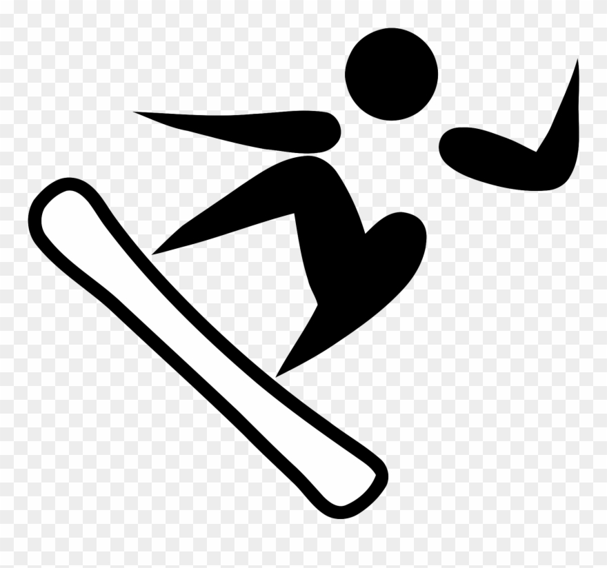 Athlete clipart olympic athlete. Fencing snowboarding pictogram
