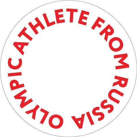 Committee releases from russia. Athlete clipart olympic athlete