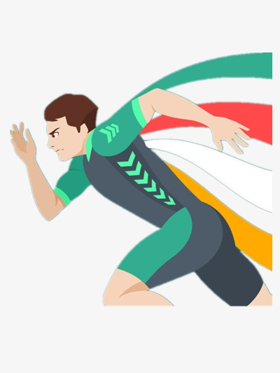 Olympic runner games png. Athlete clipart race