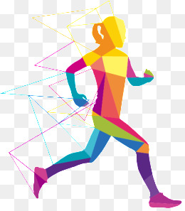 Athlete running png vectors. Athletic clipart runner
