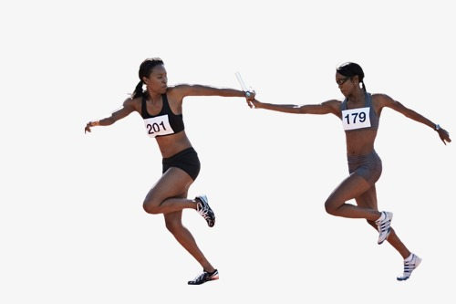 Athletic clipart female athlete. Runners athletes running png