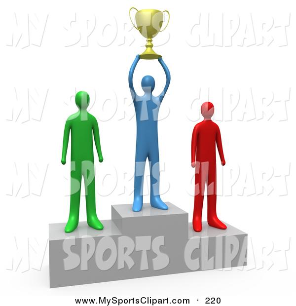 Sports clip art of. Athlete clipart success