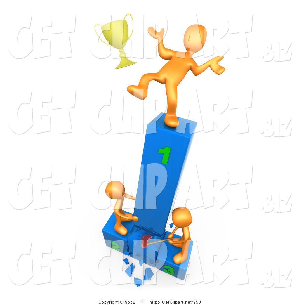 Athlete clipart success.  d clip art
