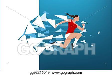 Clip art vector athletic. Athlete clipart success