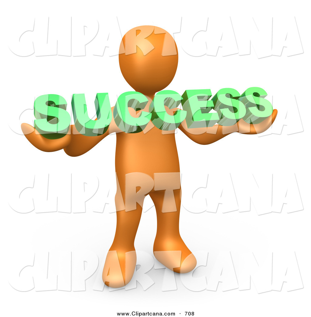 Royalty free successful stock. Athlete clipart success