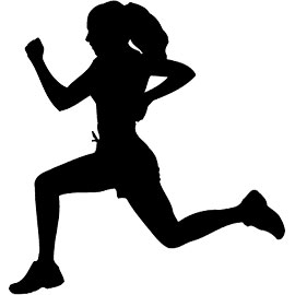 Athlete clipart track and field. Girls horizon athletics related