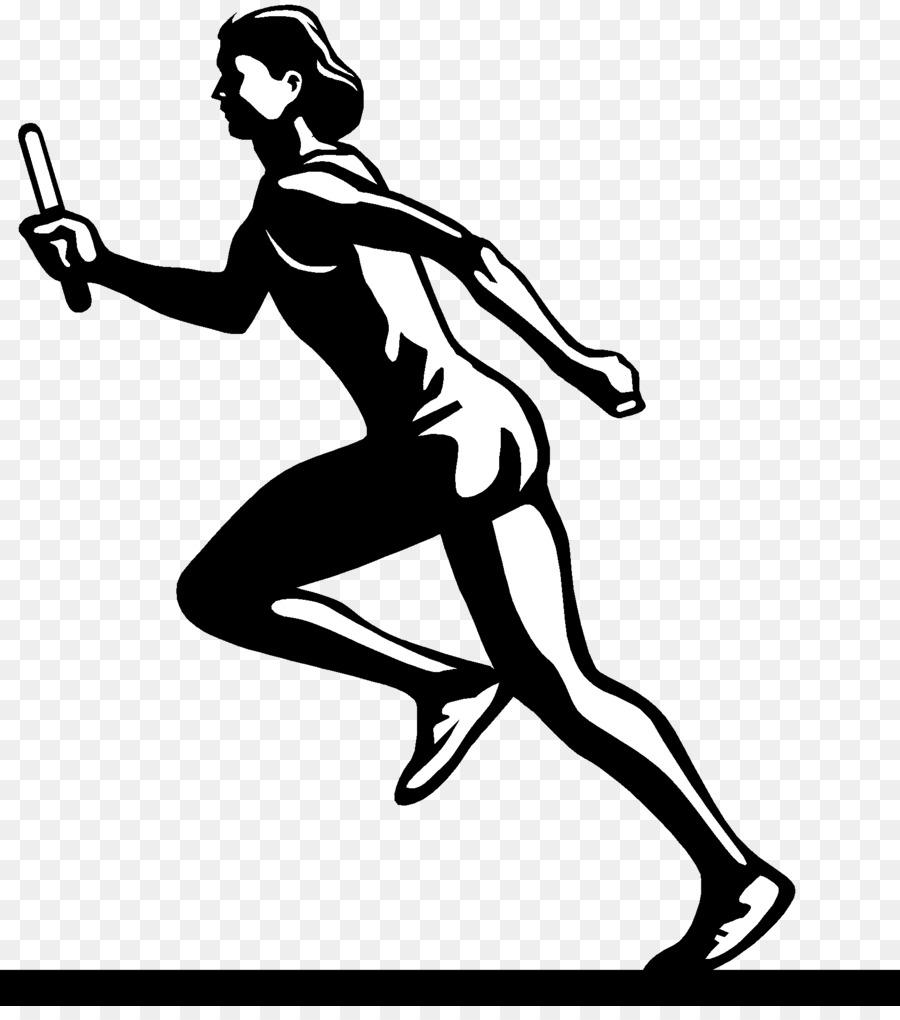 Athlete clipart track and field. Running clip art runner