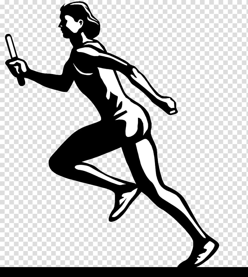 Athletic clipart transparent. Track and field athletics