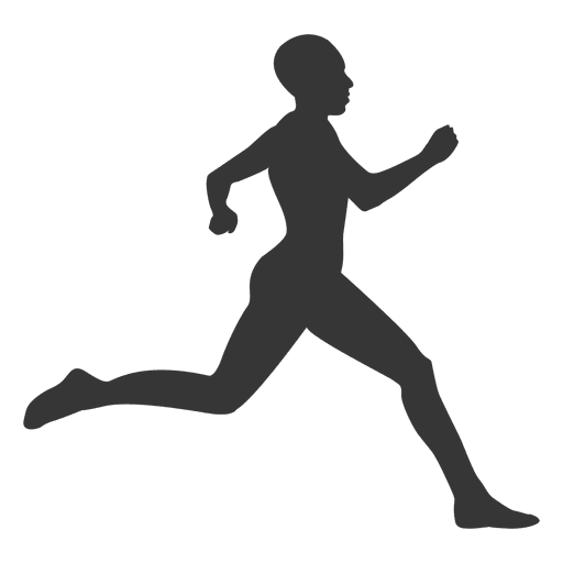 Jumping silhouette png svg. Athlete clipart transparent