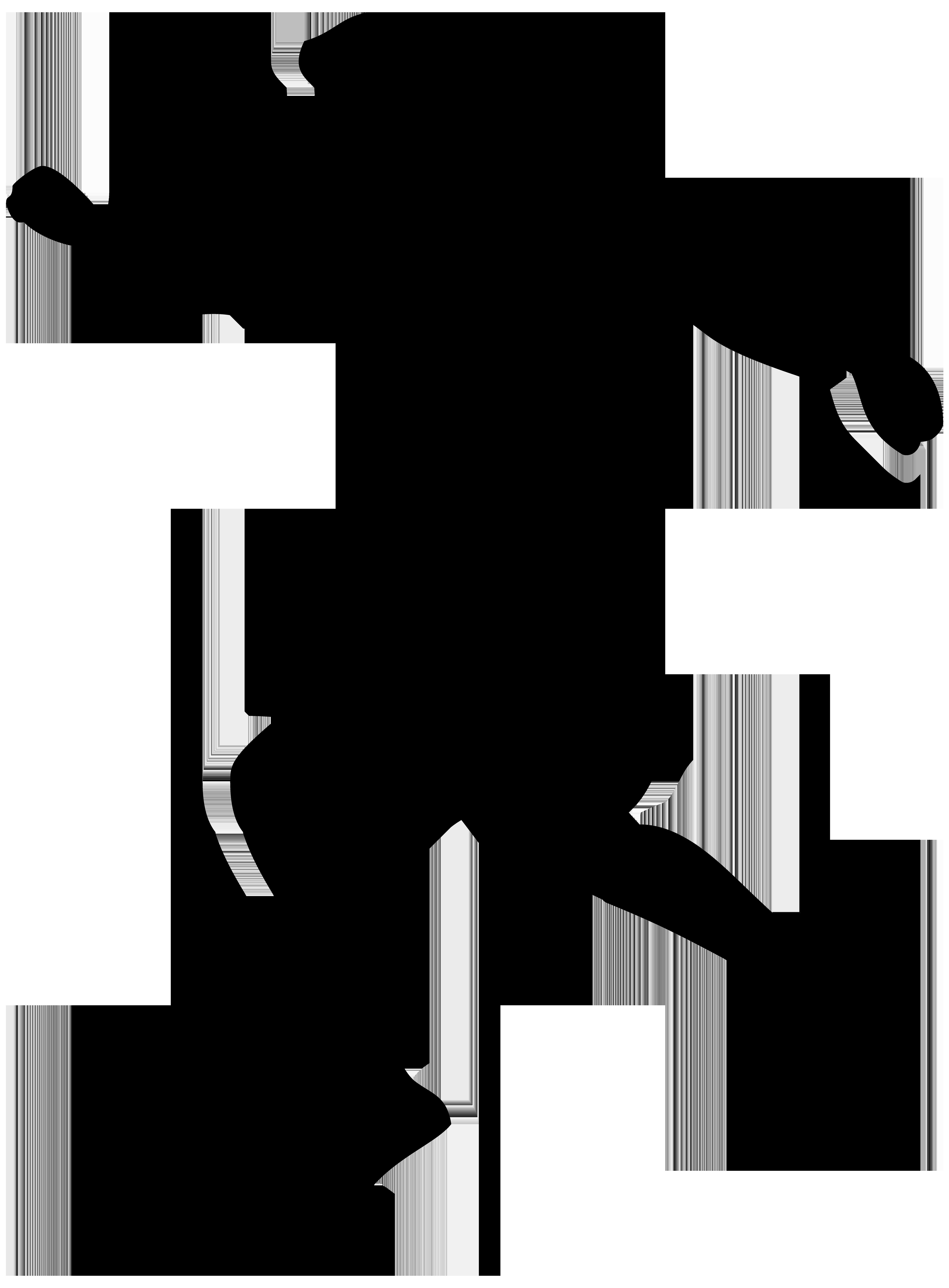 Footballer silhouette png transparent. Clipart lion soccer