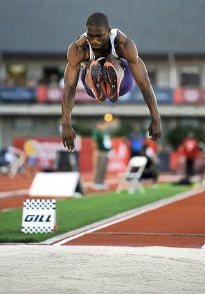 Athlete clipart triple jump.  best long jumps