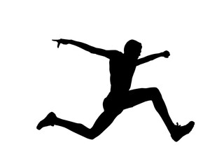 Photos royalty free images. Athlete clipart triple jump