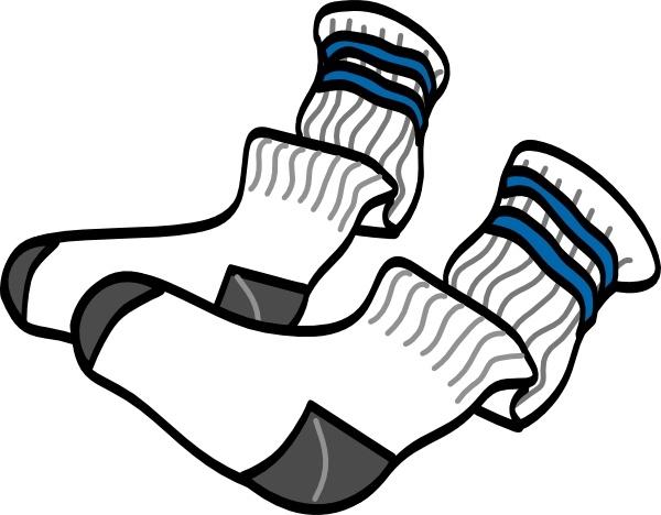Athletic clipart. Crew socks clip art