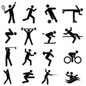 Athlete clipart. Athletics clip art royalty