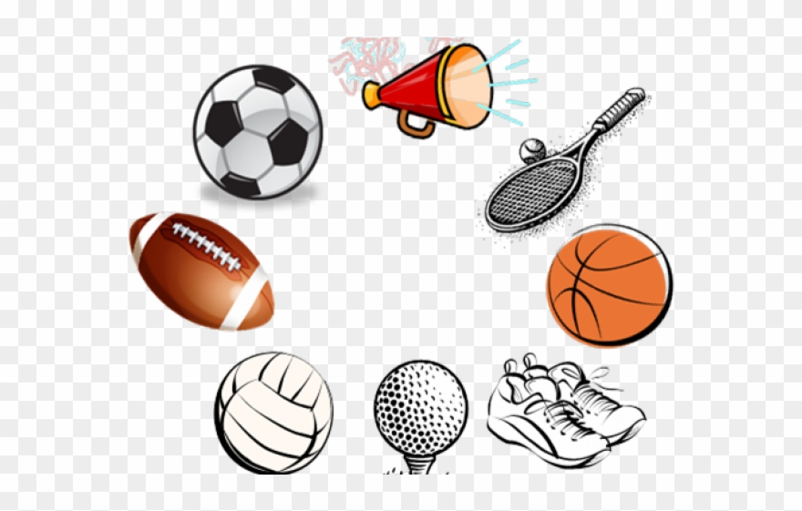 Sports equipment fall . Athletic clipart athletic director