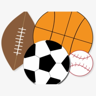 Sports equipment creative . Athletic clipart athletic director